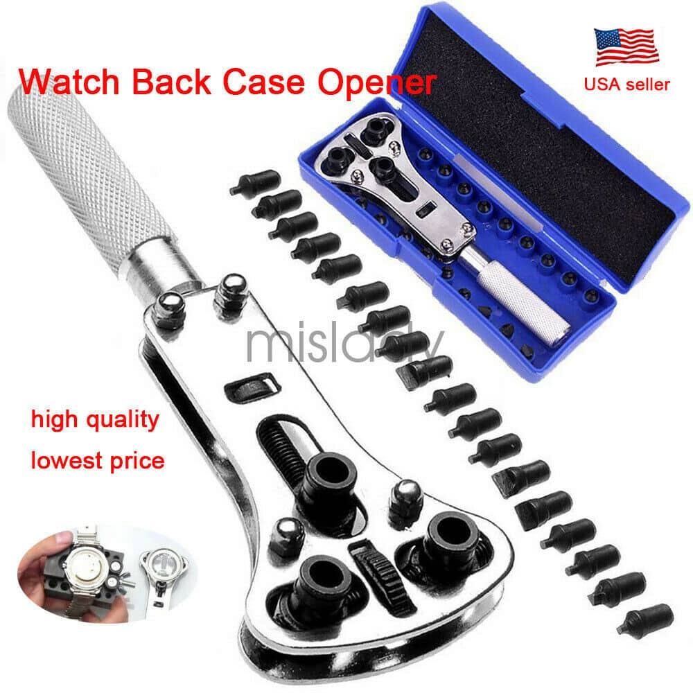 Sale Only 5 99 Watch Band Back Case Opener Fixer Repair Tool Kit Battery Screw Cover Remover Tool Netsmartbuy Coupons